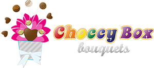 Choccy Box Bouquets Mobile Logo