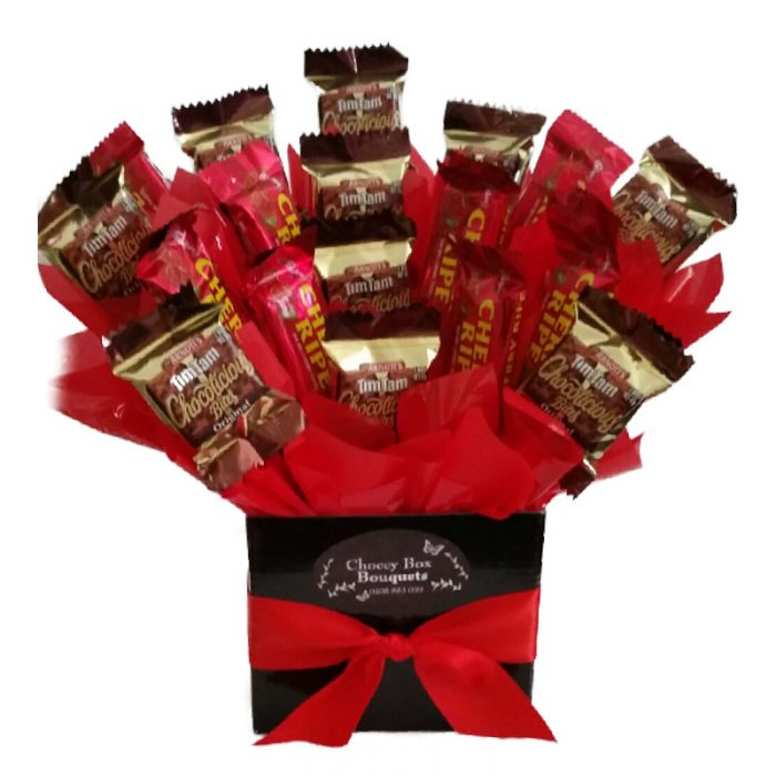 Choccy box bouquets chocolate hampers delivered australia wide tim tam cherry negle Choice Image